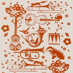 Mini Moderns Pet Sounds Tea Towel