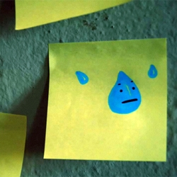 An amazing stop-motion animation experiment by Elena Colombo & Cecilia Viganò called Teardrop...