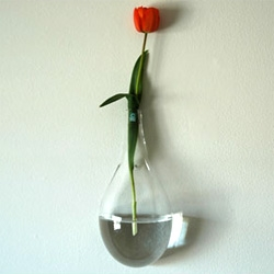 Tear Blown Glass Vases by Chive ~ there is something too gorgeous about this line... check out the other pics as well