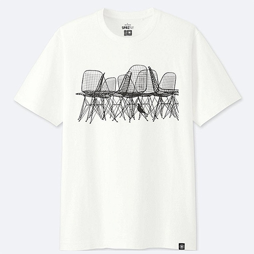 Uniqlo + MoMA = SPRZ NY! (Surprise NY) and the latest special collection is Eames focused.
