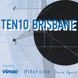 TEN10 is an audiovisual exhibition that pairs 10 visual artists with 10 musicians from the same city to create new work. The first in this series is TEN10 Brisbane, happening live on June 24.
