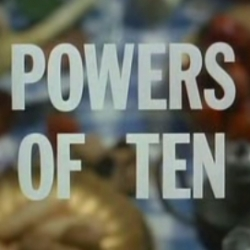 """Powers of Ten"" -  the classic science film by Charles and Ray Eames - that exponentially explores the outer and inner universes."