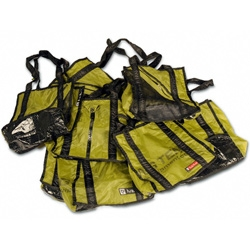 Core77 highlighted the NEMO Recycled/sample tent pieces reusable bags