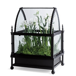 This might need to be the next house for Shade Elaine's Mr. Chompers (the venus fly trap) - Regent House Tabletop Terrarium