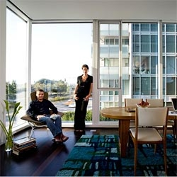 when i grow up, i wanna live in a gorgeous terrarium too.  the nytimes explores style within the glass towers.