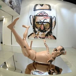 What more would you expect when Diesel, Michael Lau, and Terry Richardson team up? An incredible hong kong art show, and a larger-than-life, anatomically correct, fully-articulated action figure...