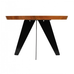 Noah Lambert's Tessello table legs are laser cut from a single sheet of steel and are suitable for DIY coffee tables, night stands, and media centers.