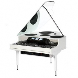 The incredibly sleek Baby Grand Master is a DJ's dream, and an object of awe for any lover of conceptual design.