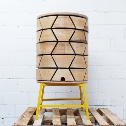 City Hive, a rooftop beehive to promote urban beekeeping, and raise awareness of the importance of honey bees. Designed by the National Design Collective.