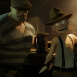 Eric Powell's 'The Goon' is being developed as an animated feature film to be produced by ground-breaking filmmaker David Fincher, Blur Studio, and Mike Richardson at Dark Horse Entertainment.