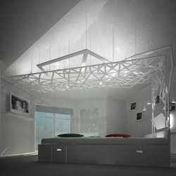 'The Tree of Knowledge of Good and Evil' Bedroom Interior from Karako architectural workshop by A Novikov and U Skarenko.