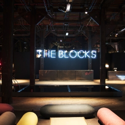 Penfolds wines and London's Studio Toogood have created an incredible one of a kind sensory environment dedicated to wine, design, art and food called THE BLOCKS in Sydney.