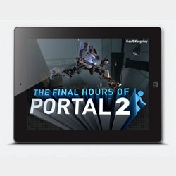 The Final Hours of Portal 2 app shows the creative process behind the new video game.