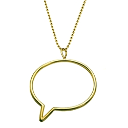 okay, so who doesn't love a little gossip?  inspired by the world of blurbs and blogs, gossip bubble let's you imagine your own headline news!  the latest conversation piece, gossip bubble keeps you front and center.