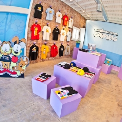 The Hundreds x Garfield Pop Up Shop opens in Santa Monica today!