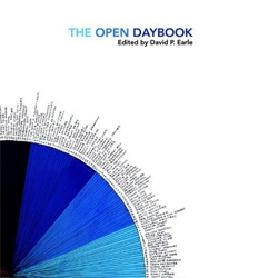 The Open Daybook is a perpetual calendar that contains 365 days of art edited by David P. Earle. Each artist was given one day to complete their  work.