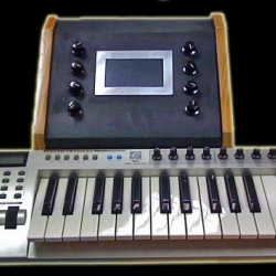 DIY touchscreen synthesizer