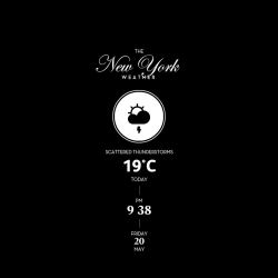 The Weather, City Edition | ScreenSaver for Mac