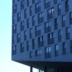 The Whale housing complex is THE landmark of the  Eastern Docklands in Amsterdam.