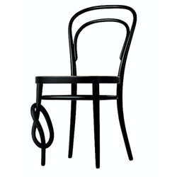 To mark the 150th anniversary of the bentwood classic 214 Chair, Thonet is producing a special edition, with a twist