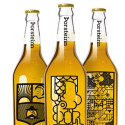 Great student design work for a beer brand by Thorleifur Gunnar Gíslason, Hlynur Ingólfsson and Geir Ólafsson of the Icelandic Academy of the Arts.