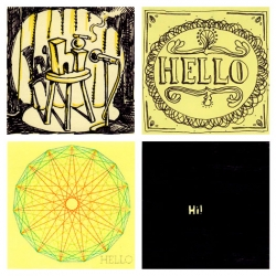 The Hello Project is an online creative collaboration giving people the chance to say hi, hello, or hola on one of today's most common yet neglected canvas: the Post-it®.