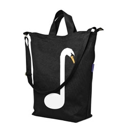 Threadless now offers ten selected designs printed on Baggu Duck bags.