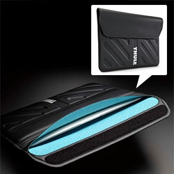 Thule Gauntlet MacBook Air Sleeves - Stitch-free, heat welded seams and an additional fold at the entry point create water-resistant defense!