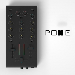 Pone is a simple & playful mixer which will help you to start mixing electro and why not to reach the high level of DJ Pone.