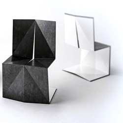 Origami chairs designed by Enoc Armengol and Arnau Miquel. Great design, great concept for a great elegance.