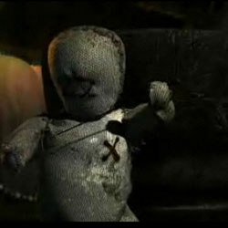 A great animation clip that shows us the small life of a voodoo doll, torn between it's own life, and the ability to save it's friends by killing itself. Animation Made by Joaquin Baldwin.