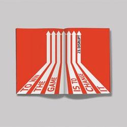 Caroline Gilroy's portfolio is impressive, full of graphic design and typography.