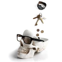 Suck UK's Tidy Skull: Keep your essentials in your head.