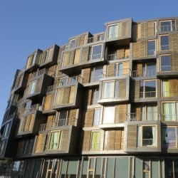 Tietgen student housing in Copenhagen, Denmark.  Designed by Lundgaard & Tranberg Architects.