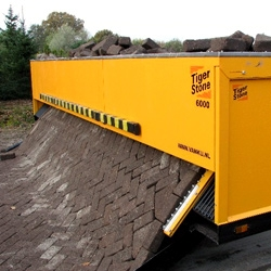 An interesting look at machines that roll out brick roads like a carpet.