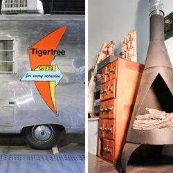 Columbus based Tigertree is about to hit the streets with their mobile store in a completely renovated 68 Avion travel trailer.