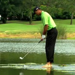 """As a response to a fan video from Tiger Woods PGA Tour 08, Tiger Woods and EA SPORTS demonstrate that the """"glitch"""" found in the game, is not a glitch at all."""