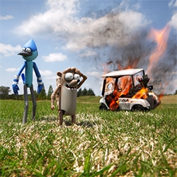 Renowned toy photographer, Brian McCarty, gives us a sneak peek into his new work for Cartoon Network! Can't wait for this campaign to start popping up all over!