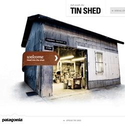 Beautiful UI for Patagonia's Tinder Shed!