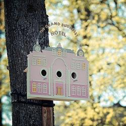 The Tiny Grand Budapest Hotel  for the birds of Vilnius.