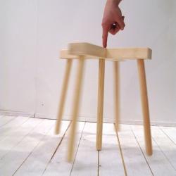 The adorbale Tiptoe Stool by swedish designer Martin Vallin. Keep your balance.