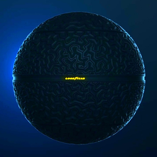 The Goodyear Eagle-360 concept tire - a spherical tire!