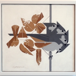 "Great exhibition of ""minimal realist"" illustrator Charley Harper's originals at Altman Siegel Gallery in SF."