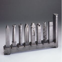 Pritzker Prize winning architect Richard Meier is unveiling a limited edition menorah for The Jewish Museum in New York.