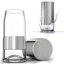 "Tkaro Water Bottle/Glass - ""the glass you take with you"""