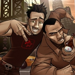 Patrick Brown from Australia, has done some rad graphics on his favourite video game GTA4.