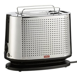 Wow... check out the design of this Bodum Bistro Toaster ~ a Crate and Barrel exclusive
