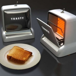 New form of TOASTER by Arthur Wu. Clean and funny concept.