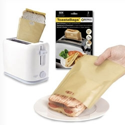 Boska Holland Toasta Bags ~ the perfect way to make a grilled cheese in a vertical toaster