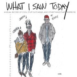 "What I Saw Today ~ a collection of daily sketches of ""cool stuff guys wear"" by designer Richard Haines"